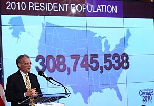Results Of 2010 U.S. Census Are Unveiled