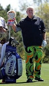 Professional Golfer John Daly