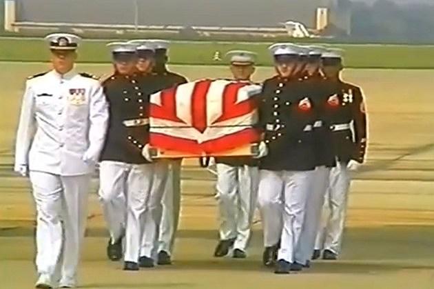 Marine burial