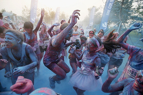 The Colour Run In Beijing