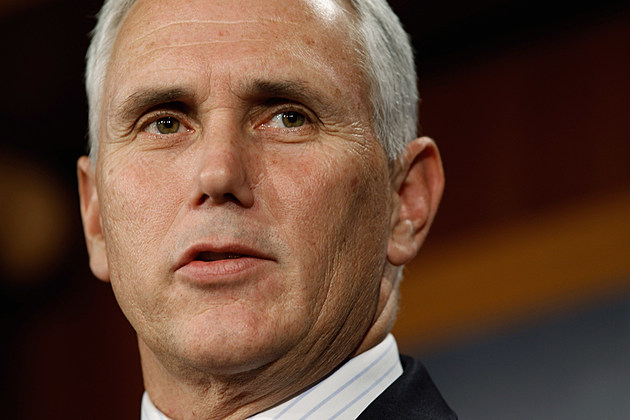 Governor Mike Pence (Photo by Chip Somodevilla/Getty Images)